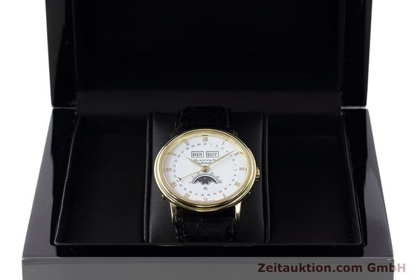 Used luxury watch Blancpain Villeret 18 ct gold automatic Kal. 6553  | 152620 07