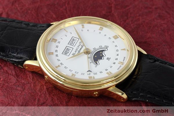 Used luxury watch Blancpain Villeret 18 ct gold automatic Kal. 6553  | 152620 16