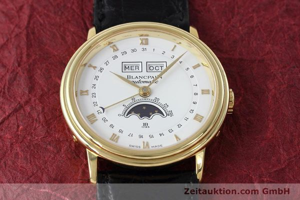 Used luxury watch Blancpain Villeret 18 ct gold automatic Kal. 6553  | 152620 17
