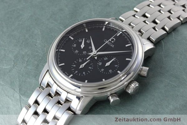 Used luxury watch Omega De Ville chronograph steel manual winding Kal. 861 Ref. 48405101  | 152622 01