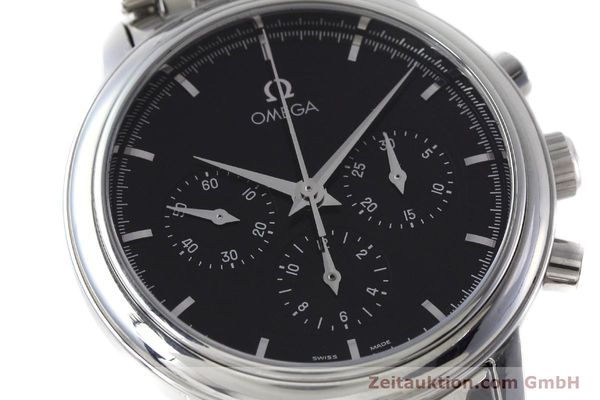 Used luxury watch Omega De Ville chronograph steel manual winding Kal. 861 Ref. 48405101  | 152622 02
