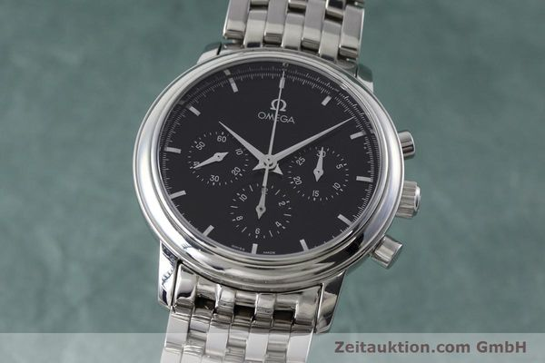 Used luxury watch Omega De Ville chronograph steel manual winding Kal. 861 Ref. 48405101  | 152622 04