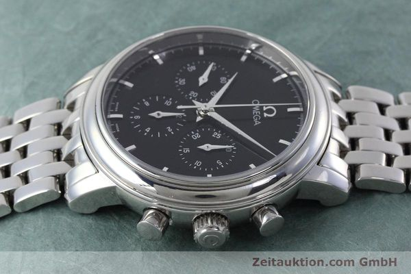 Used luxury watch Omega De Ville chronograph steel manual winding Kal. 861 Ref. 48405101  | 152622 05
