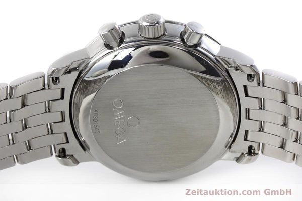 Used luxury watch Omega De Ville chronograph steel manual winding Kal. 861 Ref. 48405101  | 152622 09