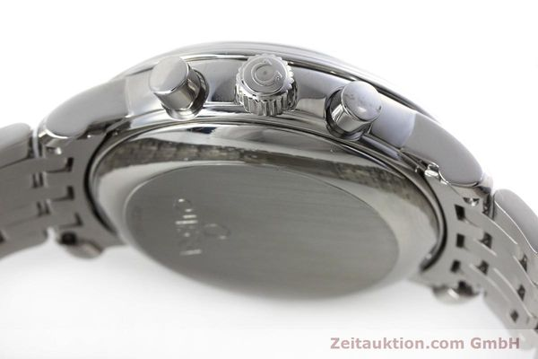 Used luxury watch Omega De Ville chronograph steel manual winding Kal. 861 Ref. 48405101  | 152622 12