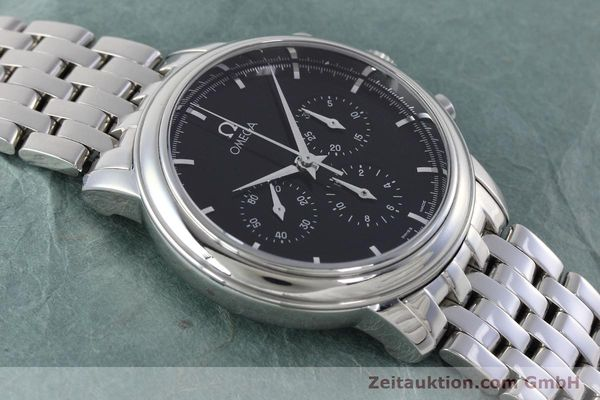 Used luxury watch Omega De Ville chronograph steel manual winding Kal. 861 Ref. 48405101  | 152622 17