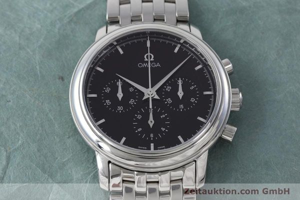 Used luxury watch Omega De Ville chronograph steel manual winding Kal. 861 Ref. 48405101  | 152622 18
