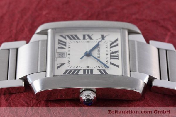 Used luxury watch Cartier Tank Francaise steel automatic Kal. 120 ETA 2000-1 Ref. 2302  | 152623 05