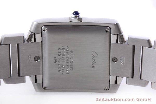 Used luxury watch Cartier Tank Francaise steel automatic Kal. 120 ETA 2000-1 Ref. 2302  | 152623 09