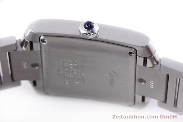 Used luxury watch Cartier Tank Francaise steel automatic Kal. 120 ETA 2000-1 Ref. 2302  | 152623 11