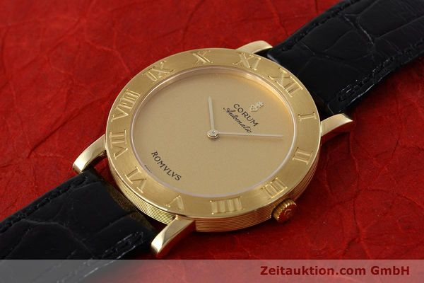 montre de luxe d occasion Corum Romulus or 18 ct automatique Ref. 5870656  | 152624 01
