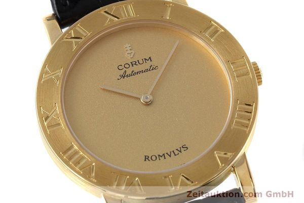montre de luxe d occasion Corum Romulus or 18 ct automatique Ref. 5870656  | 152624 02