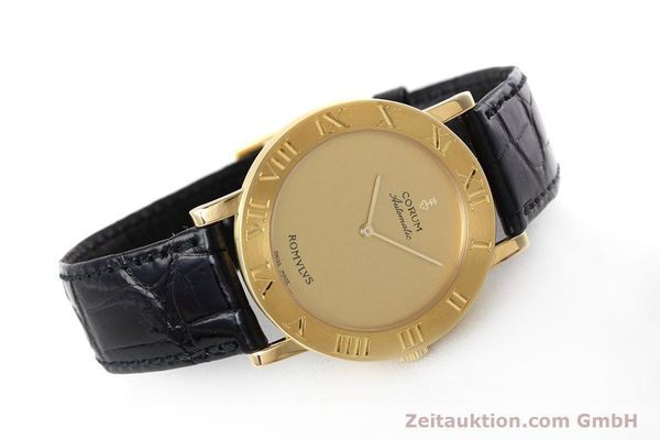montre de luxe d occasion Corum Romulus or 18 ct automatique Ref. 5870656  | 152624 03