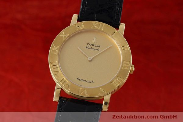 montre de luxe d occasion Corum Romulus or 18 ct automatique Ref. 5870656  | 152624 04