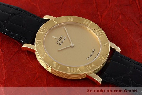 montre de luxe d occasion Corum Romulus or 18 ct automatique Ref. 5870656  | 152624 17