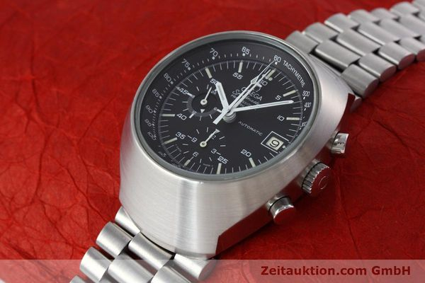 Used luxury watch Omega Speedmaster chronograph steel automatic Kal. 1040 VINTAGE  | 152625 01