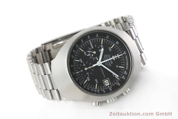 Used luxury watch Omega Speedmaster chronograph steel automatic Kal. 1040 VINTAGE  | 152625 03