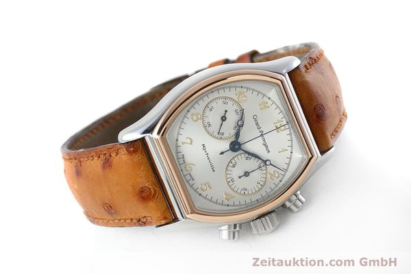 Used luxury watch Girard Perregaux Richeville chronograph steel / gold manual winding Kal. LWO 1872 Ref. 2710  | 152626 03
