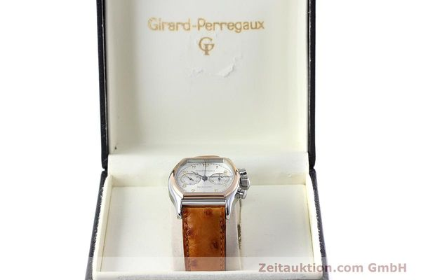 Used luxury watch Girard Perregaux Richeville chronograph steel / gold manual winding Kal. LWO 1872 Ref. 2710  | 152626 07