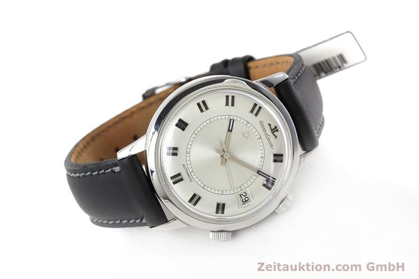 Used luxury watch Jaeger Le Coultre Memovox steel automatic Kal. 825  | 152627 03