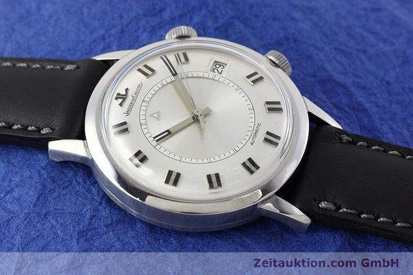 Used luxury watch Jaeger Le Coultre Memovox steel automatic Kal. 825  | 152627 13