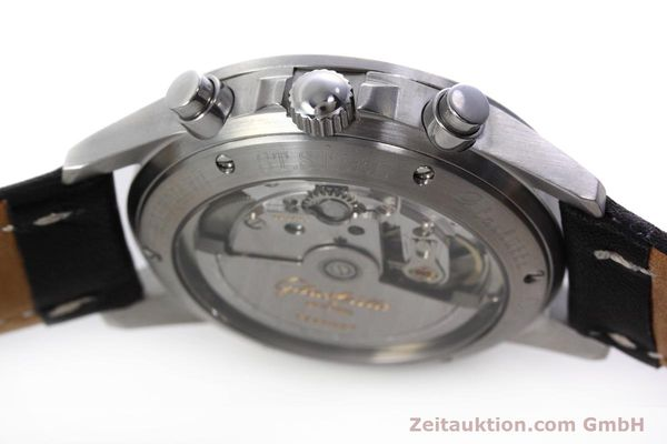 Used luxury watch Glashütte Navigator chronograph steel automatic Kal. GUB 10-60  | 152637 08