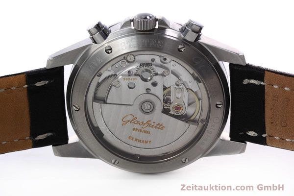 Used luxury watch Glashütte Navigator chronograph steel automatic Kal. GUB 10-60  | 152637 09