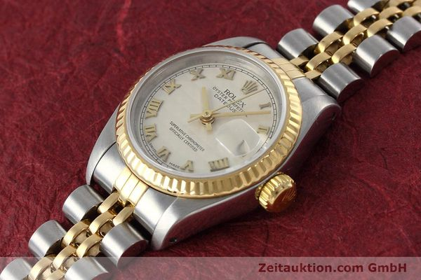 montre de luxe d occasion Rolex Lady Datejust acier / or  automatique Kal. 2135 Ref. 69173  | 152640 01