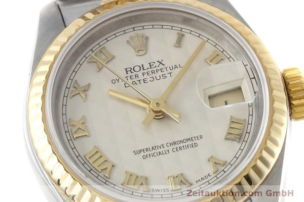 montre de luxe d occasion Rolex Lady Datejust acier / or  automatique Kal. 2135 Ref. 69173  | 152640 02