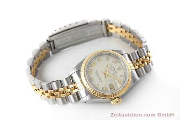 montre de luxe d occasion Rolex Lady Datejust acier / or  automatique Kal. 2135 Ref. 69173  | 152640 03