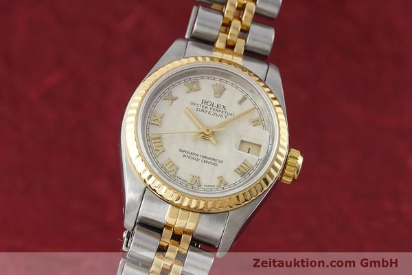 montre de luxe d occasion Rolex Lady Datejust acier / or  automatique Kal. 2135 Ref. 69173  | 152640 04