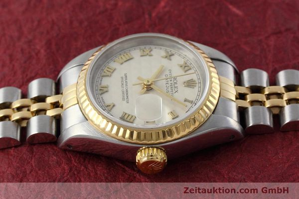 montre de luxe d occasion Rolex Lady Datejust acier / or  automatique Kal. 2135 Ref. 69173  | 152640 05