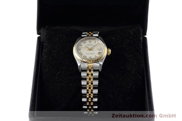 montre de luxe d occasion Rolex Lady Datejust acier / or  automatique Kal. 2135 Ref. 69173  | 152640 07