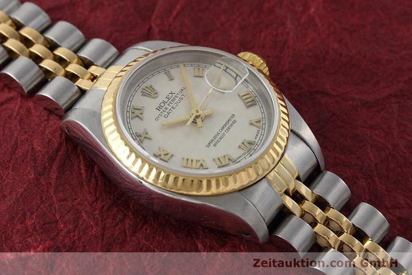 montre de luxe d occasion Rolex Lady Datejust acier / or  automatique Kal. 2135 Ref. 69173  | 152640 14