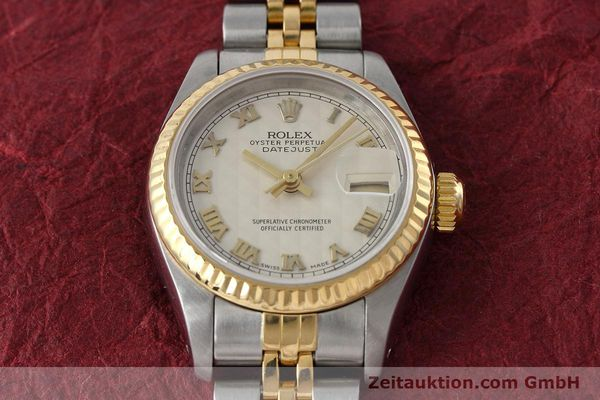 montre de luxe d occasion Rolex Lady Datejust acier / or  automatique Kal. 2135 Ref. 69173  | 152640 15