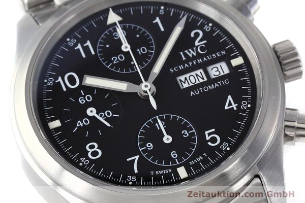 Used luxury watch IWC Fliegerchronograph chronograph steel automatic Kal. 7912 Ref. 3706  | 152641 02