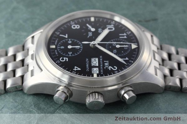 Used luxury watch IWC Fliegerchronograph chronograph steel automatic Kal. 7912 Ref. 3706  | 152641 05