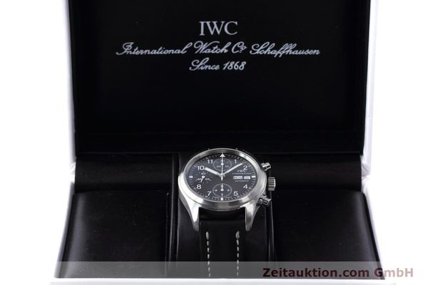 Used luxury watch IWC Fliegerchronograph chronograph steel automatic Kal. 7912 Ref. 3706  | 152641 07