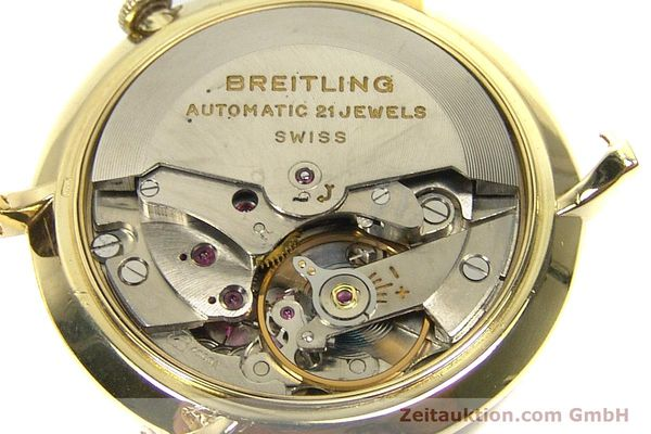 Used luxury watch Breitling * 18 ct gold automatic Kal. F4000N Ref. 2531 VINTAGE  | 152642 10