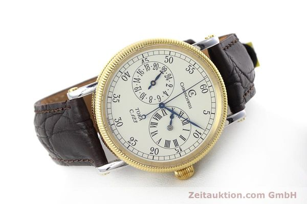 Used luxury watch Chronoswiss Tora steel / gold automatic Kal. 123 Ref. CH1322  | 152643 03