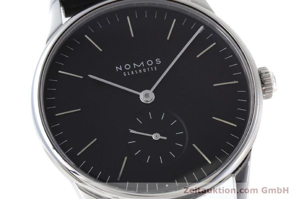 Used luxury watch Nomos Orion steel manual winding Kal. Alpha  | 152648 02