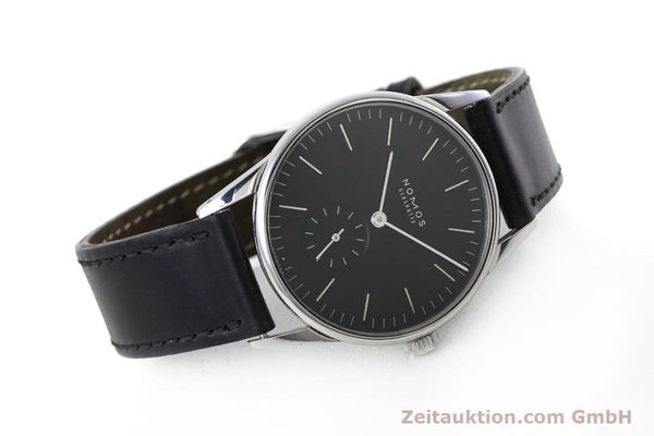Used luxury watch Nomos Orion steel manual winding Kal. Alpha  | 152648 03