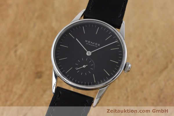 Used luxury watch Nomos Orion steel manual winding Kal. Alpha  | 152648 04
