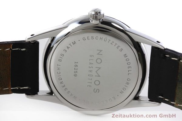 Used luxury watch Nomos Orion steel manual winding Kal. Alpha  | 152648 09