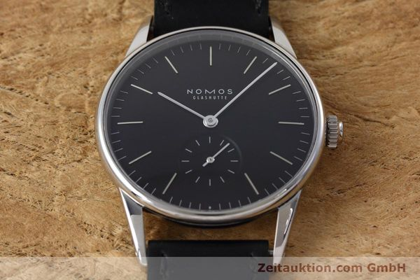 Used luxury watch Nomos Orion steel manual winding Kal. Alpha  | 152648 16