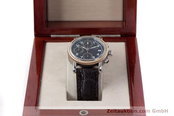 Used luxury watch Mühle Chronograph II chronograph steel / gold automatic Kal. ETA 7750 Ref. M1-31-50  | 152649 07