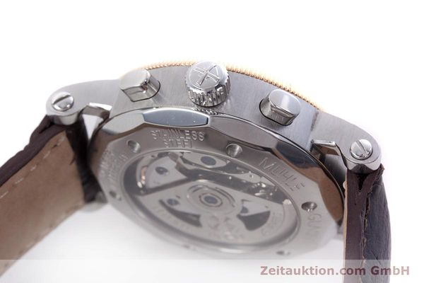 Used luxury watch Mühle Chronograph II chronograph steel / gold automatic Kal. ETA 7750 Ref. M1-31-50  | 152649 08