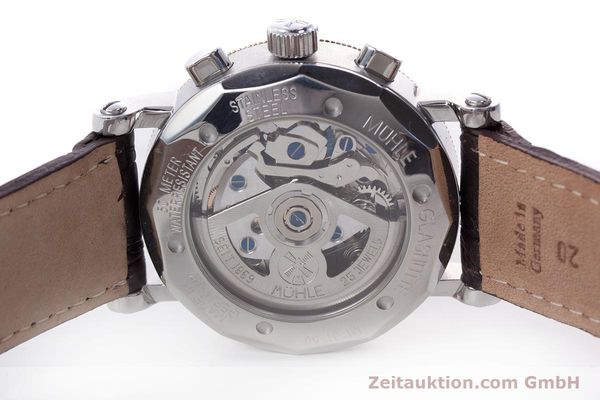 Used luxury watch Mühle Chronograph II chronograph steel / gold automatic Kal. ETA 7750 Ref. M1-31-50  | 152649 09