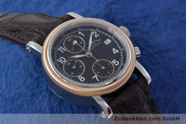 Used luxury watch Mühle Chronograph II chronograph steel / gold automatic Kal. ETA 7750 Ref. M1-31-50  | 152649 14