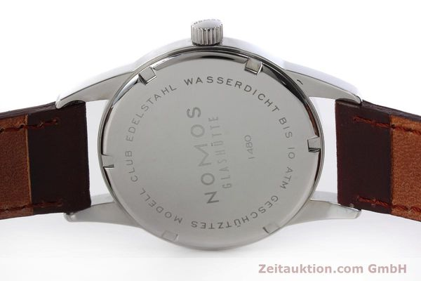 Used luxury watch Nomos Club steel manual winding Kal. Alpha  | 152650 09